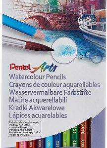 CB9-12 Pentel 12色水溶性木顏色筆