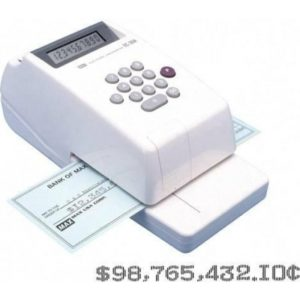 MAX 電子支票機 EC-30A