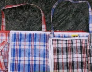 紅、白、藍 尼龍袋