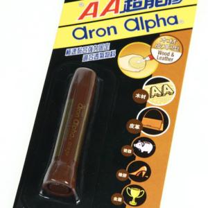 AA 木材皮革型 超能膠 啡桿