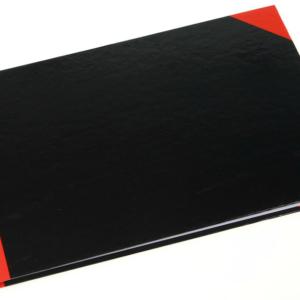 ENROLA EN1110A F4 (8 x 13) 紅黑面硬皮簿-100頁