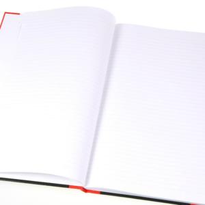 Hard Cover Index Book 紅黑硬皮索引簿