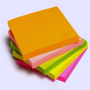 NEON No. 4A 303~N~300 5 COLOR STICKY (300 Sheets)