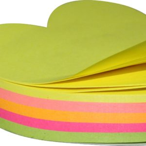 NEON No.5036 Die-cut Sticky (200 Sheets 5 Colour)
