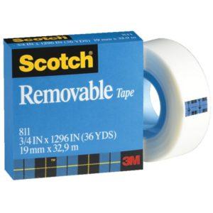 Scotch 思高牌可貼隱形膠紙 (Cat. 811)