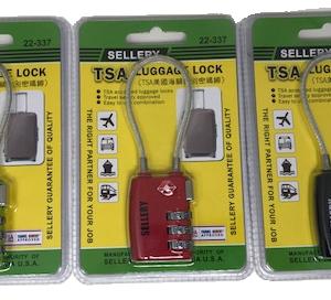 Sellery 22-337 TSA 美國海關密碼鎖