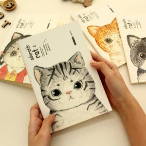 adorable cat #1~#4 (185 x 260mm) 單行簿 (38頁)
