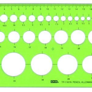 CKS TP-1161N 圓板