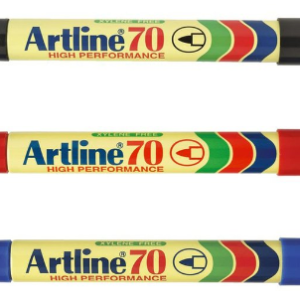 Artline 70 HIGH PERFORMACE 箱頭筆