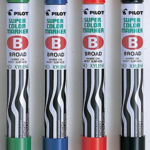 PILOT SUPER COLOR MARKER - BROAD