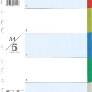 DATABANK CID-05 (5 COLOR) INDEX