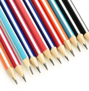 三角型 (HB) 鉛筆 (12支裝)