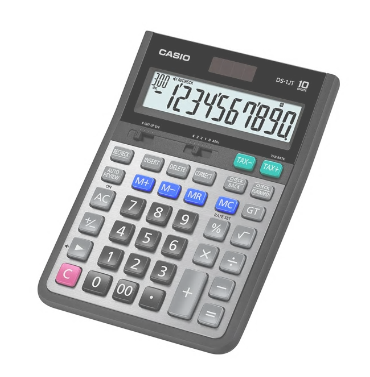 CASIO 計數機 DS-1JT HEAVY DUTY CALCULATOR
