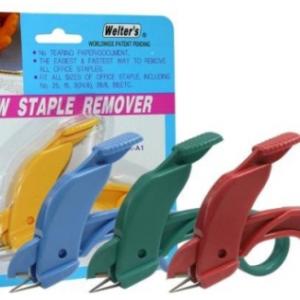 Welter's Item SR-A1 NEW STAPLE REMOVER 起釘器