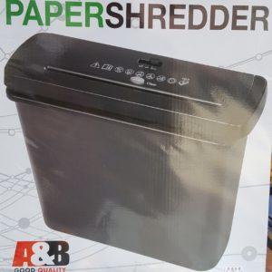 A&B S117-A PAPER SHREDDER 碎紙機