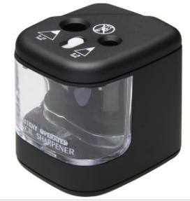 TIKO NO.AA00175 2-HOLE PENCIL SHARPENER (Battery operate) 雙頭鉛筆刨