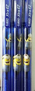 Bic MINIONS EZ Ballpoint Pen 0.5 (BLUE)