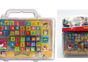 NO.DX50234T TOY STORY RUBBER STAMP 字母印章套裝
