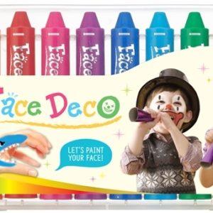FD5PC12 face deco 12 colors closeup
